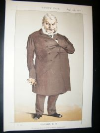 Vanity Fair Print 1871 John Locke Caricature